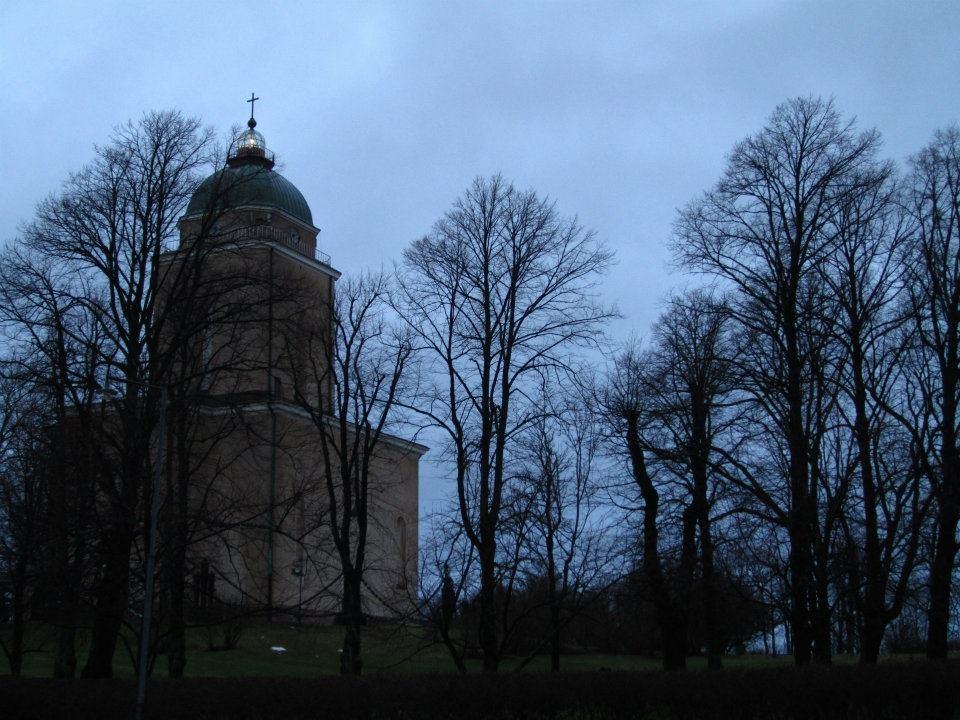 Early Darkness on Suomenlinna Island