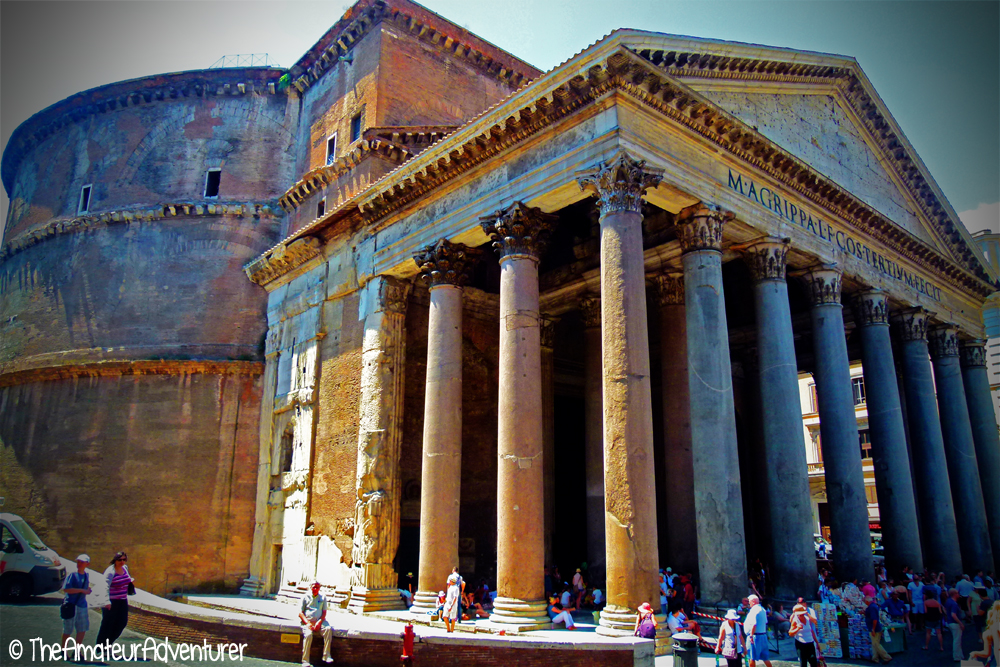 The Pantheon - Part of the historic centre of Rome
