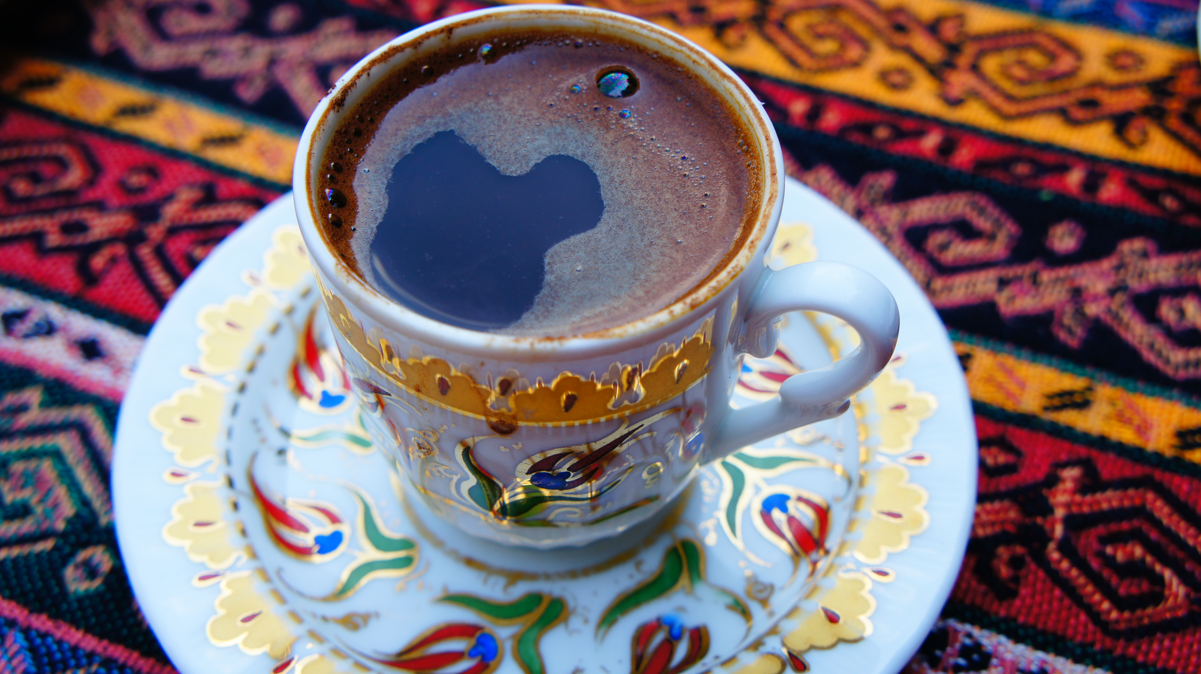A coffee in Istanbul