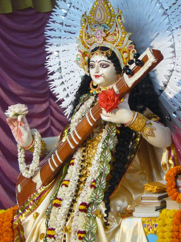Photo Gallery of Sri Sri Saraswati Puja at Belur Math -14 February 2013 (108)