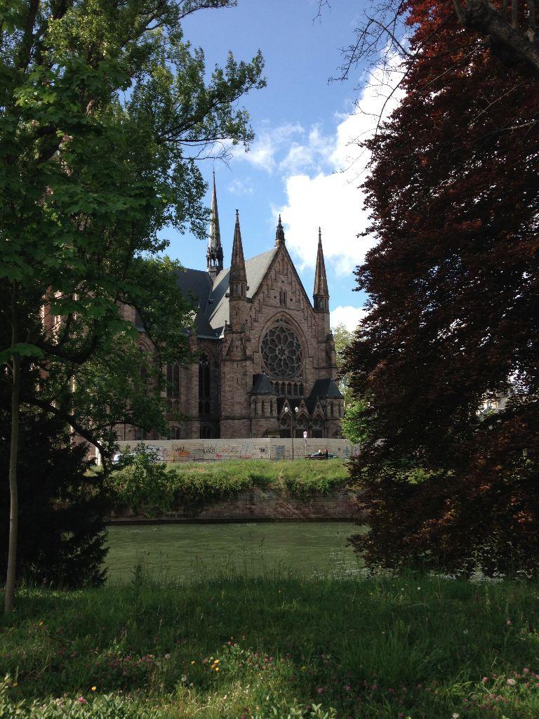 Sites around Strasbourg, France,