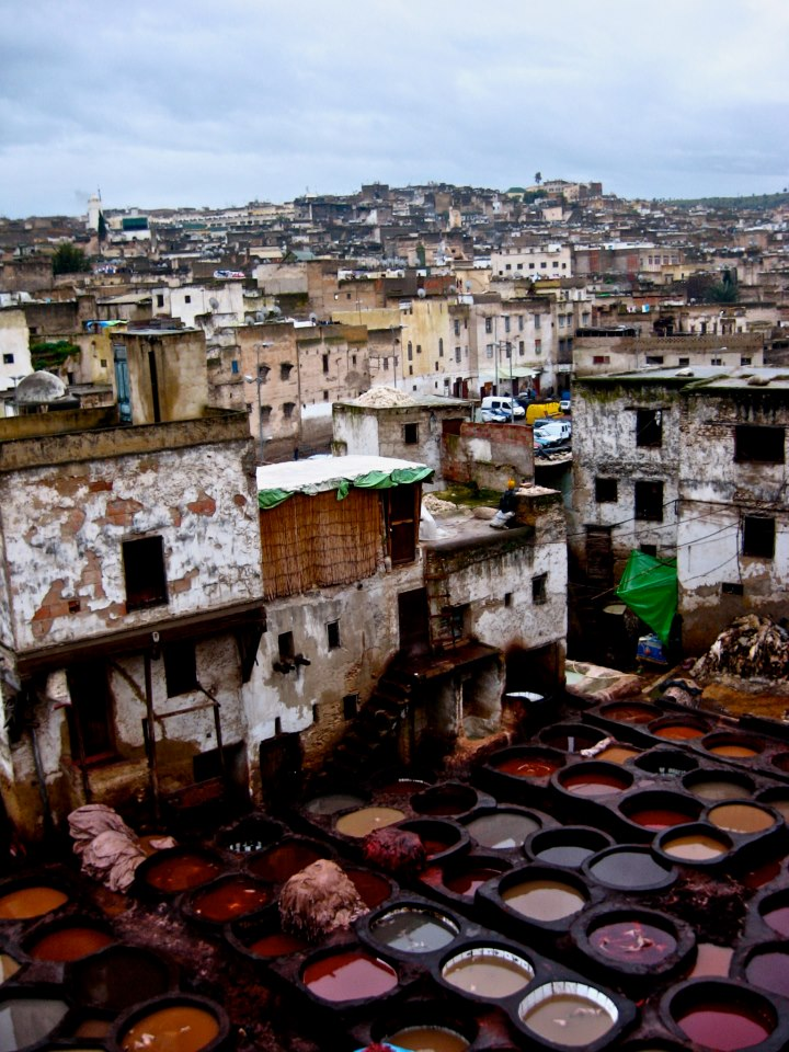 Fez's Incredible and Ancient Marketplace
