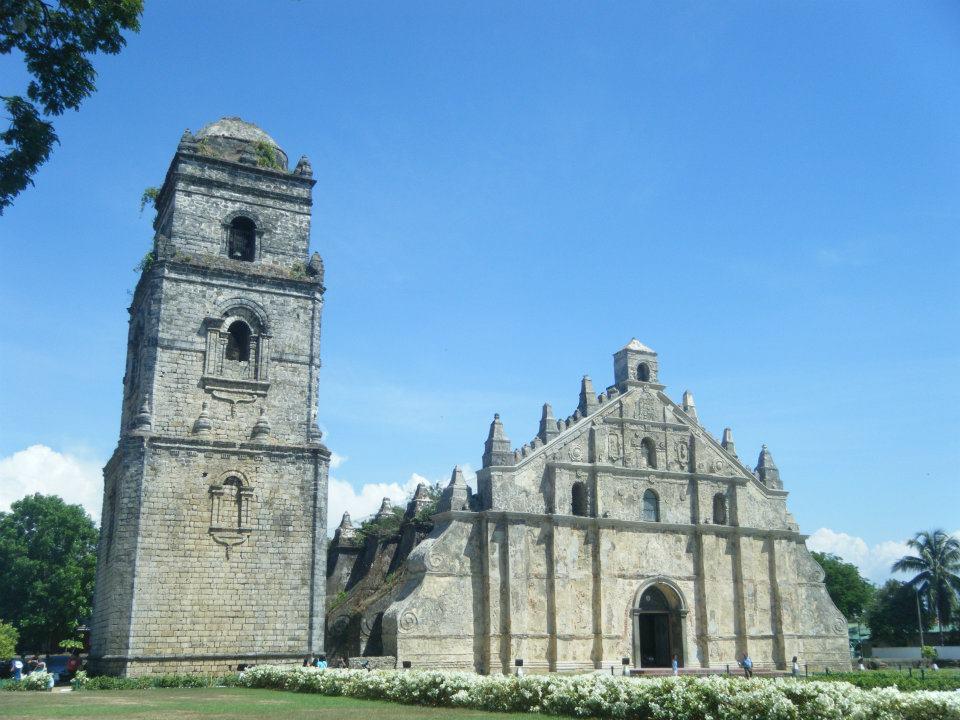 Visiting Paoay Church
