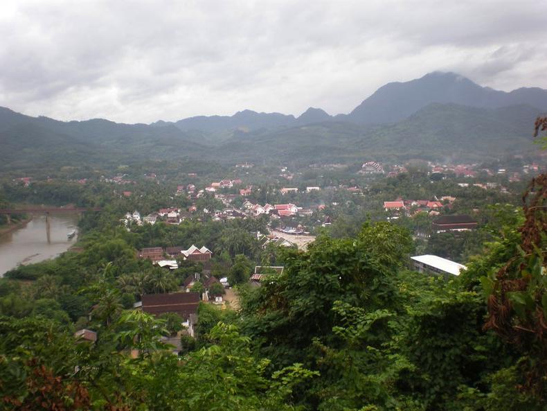 Town of Luang Prabang - Lao People's Democratic Republic