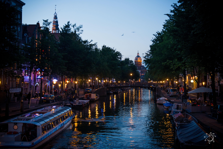 Amsterdam inside the Singelgracht