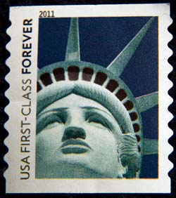 Statue of Liberty, USA stamp