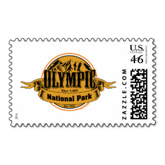 Olympic National Park, USA stamp