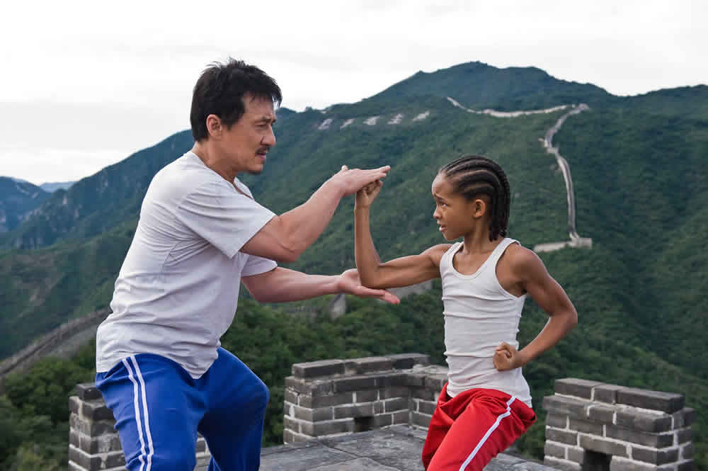 The Karate Kid great wall