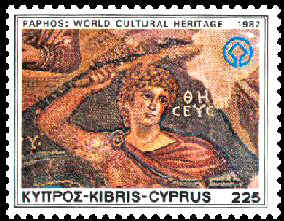 World Heritage stamps from Paphos