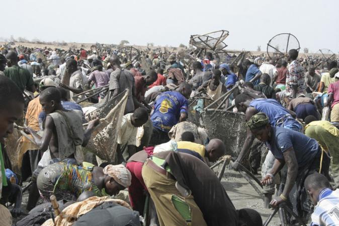 The Sanke' Mon festival ritual - Mali