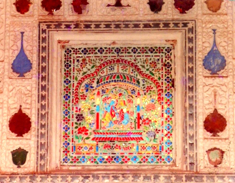amber fort inlay