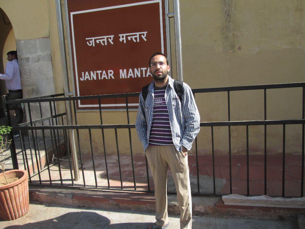 Shashank, Jantar Mantar, Jaipur