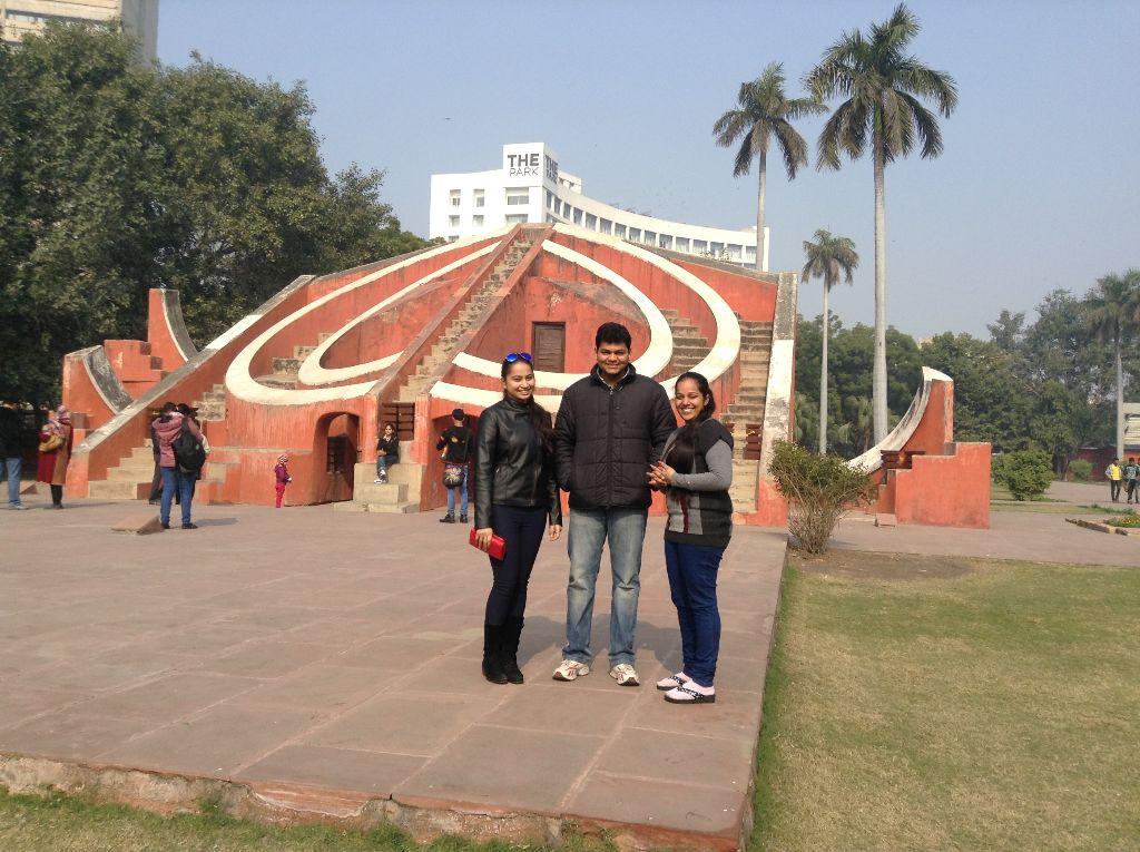 From L-R: Chandni Gulati, Arjun Gupta, Arushi Saraf