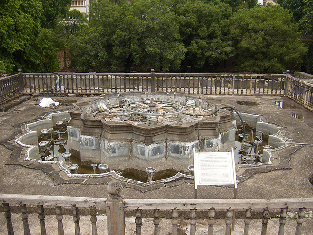 lotus-shaped-fountain