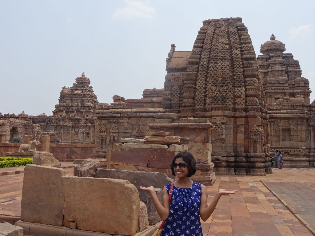 Look at the monuments Pattadakal monuments