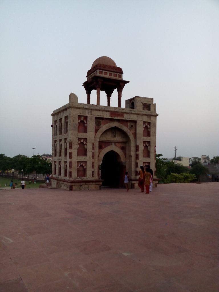 the main two arched gateway