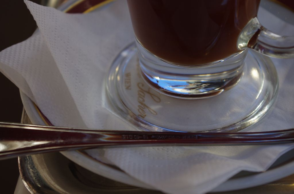Coffee at the Hotel Sacher