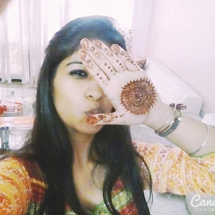 Mehendi is temporary jewellery