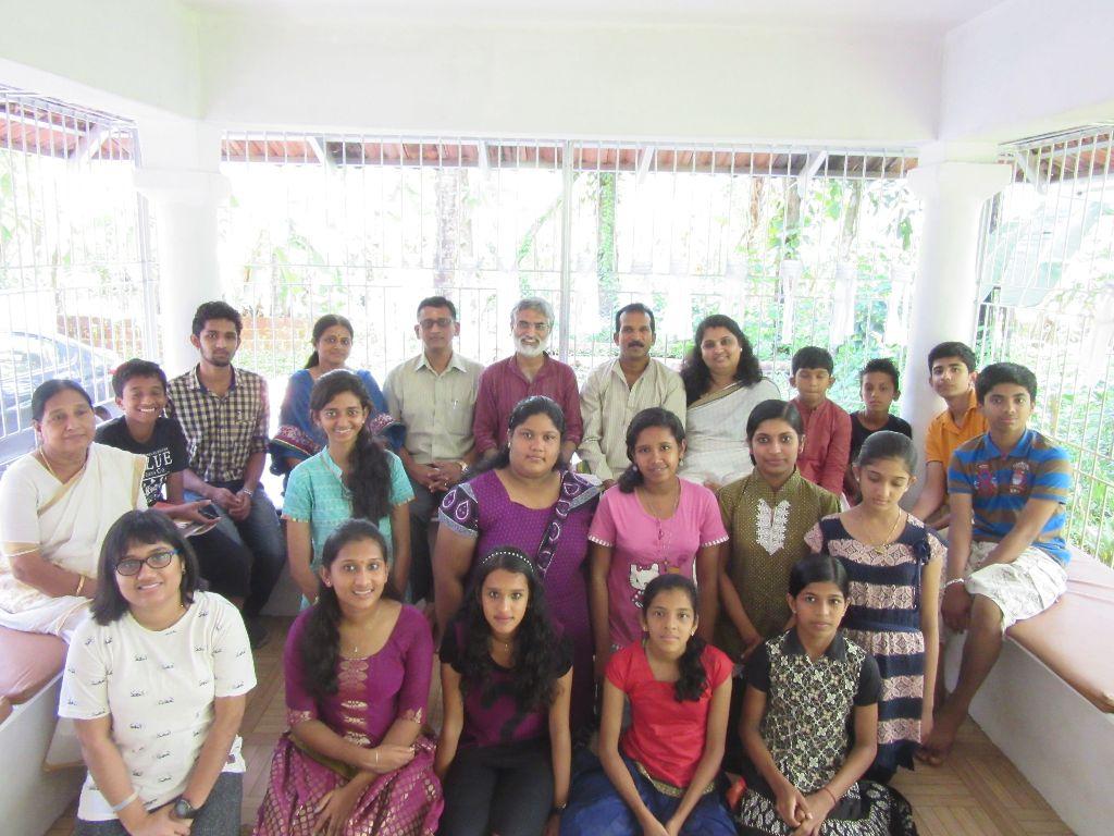 At JNAANAM, kannur with Dr T P Sasikumar sir
