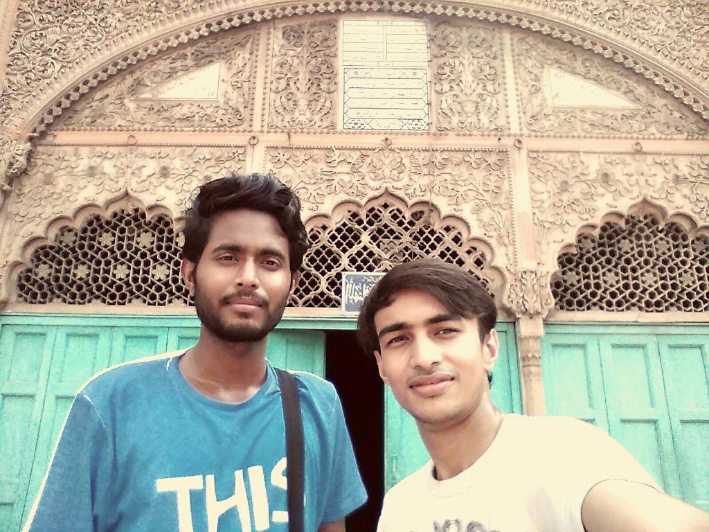 Selfie at Nawab Rukn-Ud-Daula
