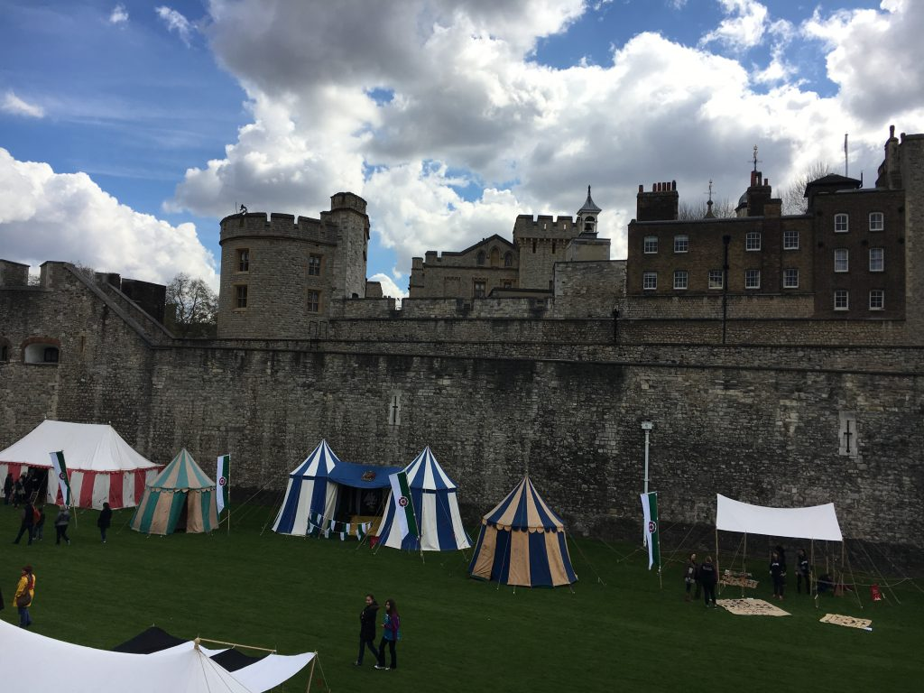 Tudor day at the tower
