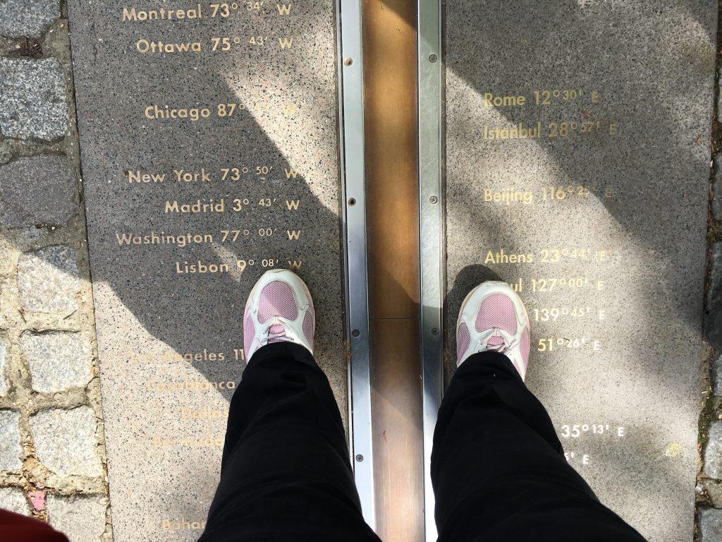 A foot in each hemisphere