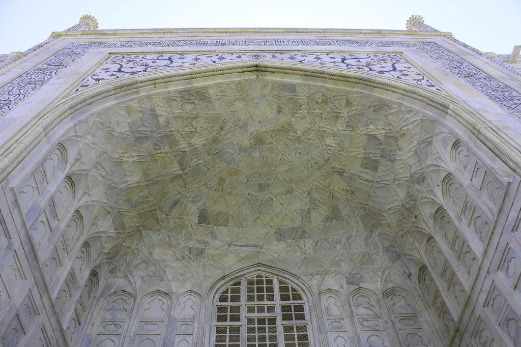 Mumtaz Mahal Tomb's entrance