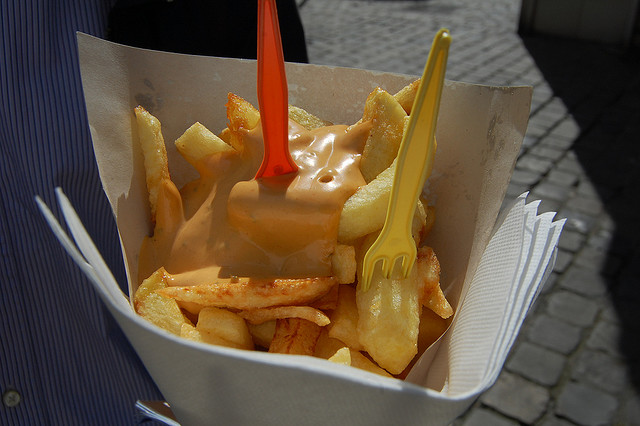 Belgian Frites with Sauce Andalouse