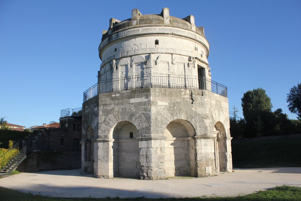 Not part of the World Heritage, but still impressive - The mausoleum of Theodoric