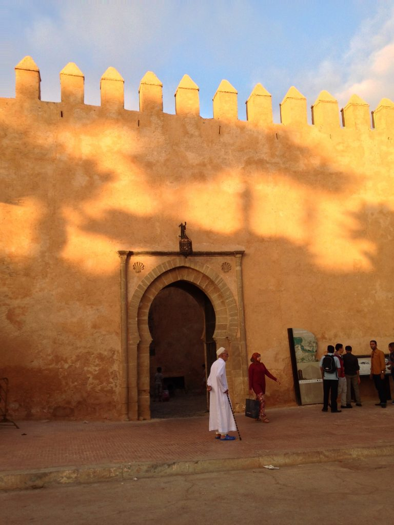The old town of Rabat