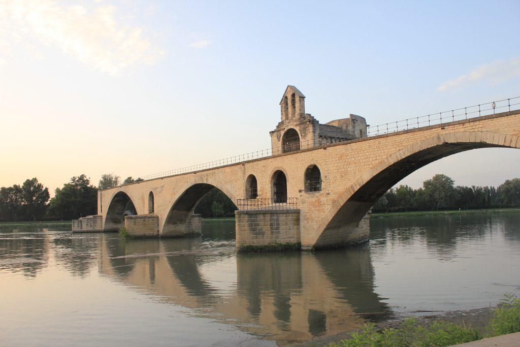 The famous bridge of Avignon