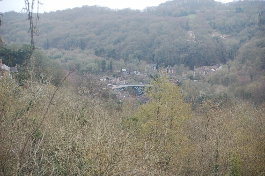 The bridge from the hills