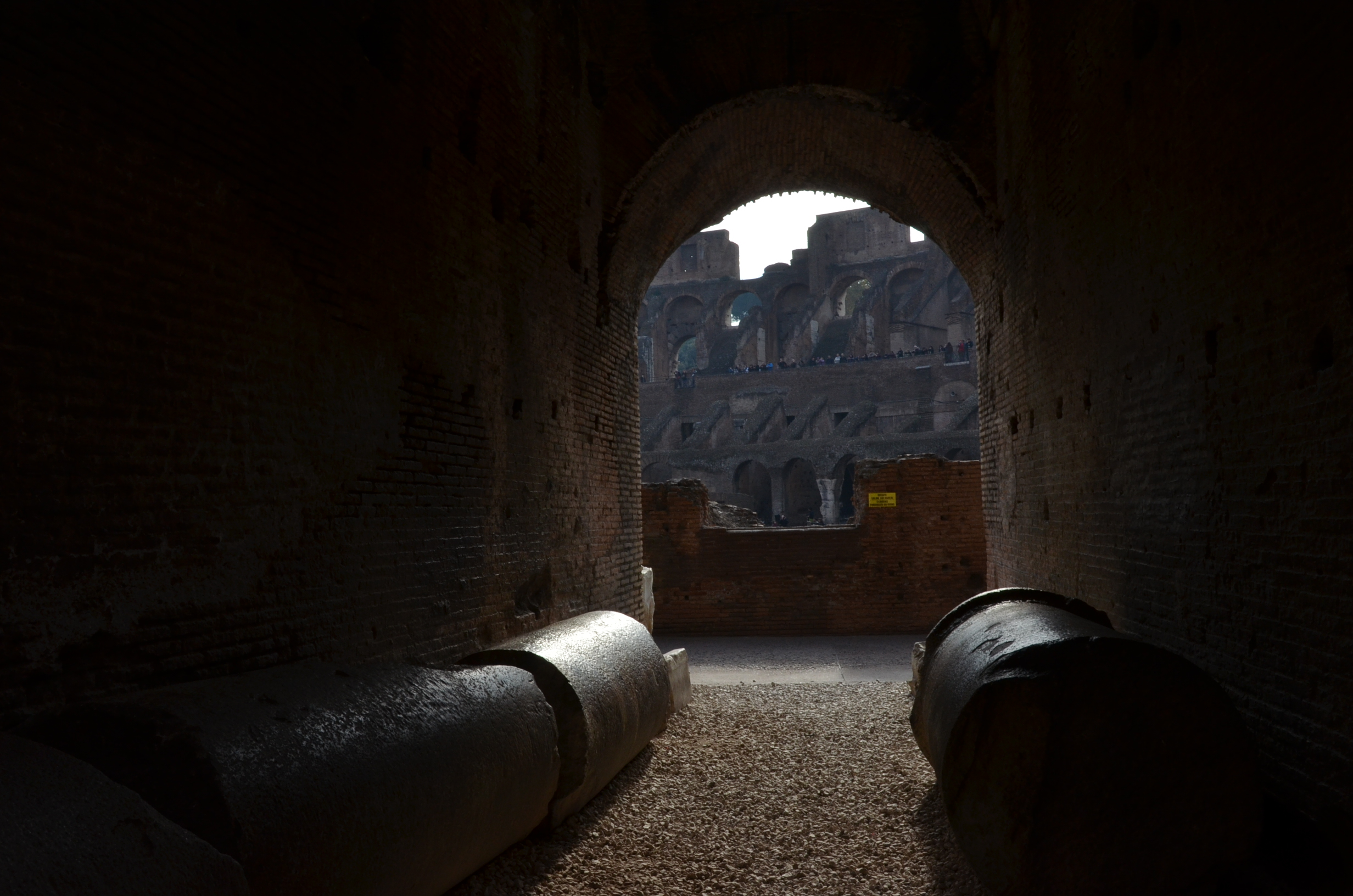 inner side of Collosseum