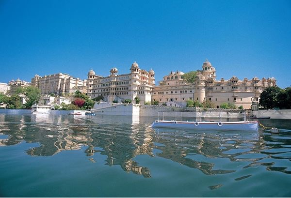 The City palace Of Udaipur Rajasthan