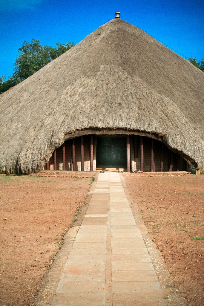 The entrance of the Kasubi tombs Picture Courtesy: Andrew Moore