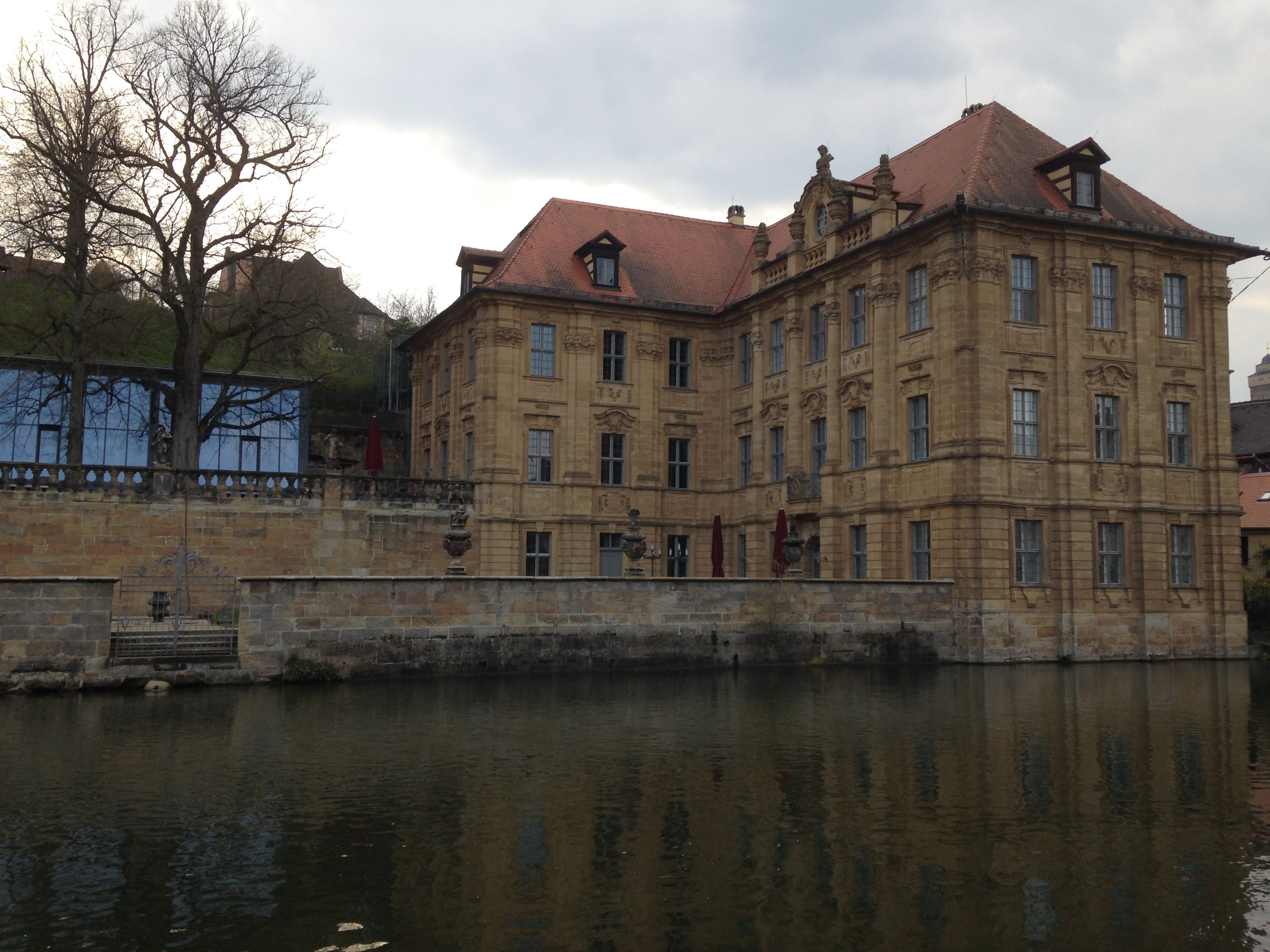 The Villa Concordia on the River Regnitz
