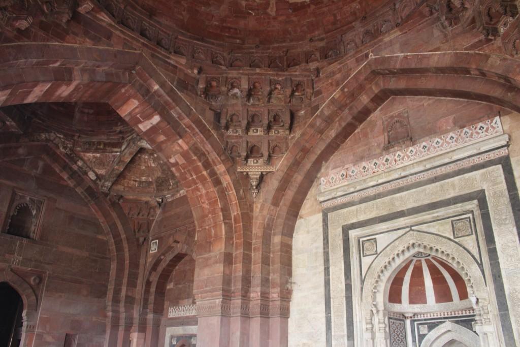 Purana Qila Arches
