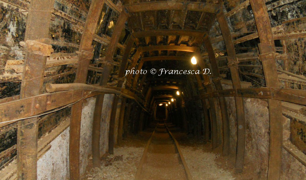 Iglesias, City Center- Mine tunnel,Museum of Mining Art