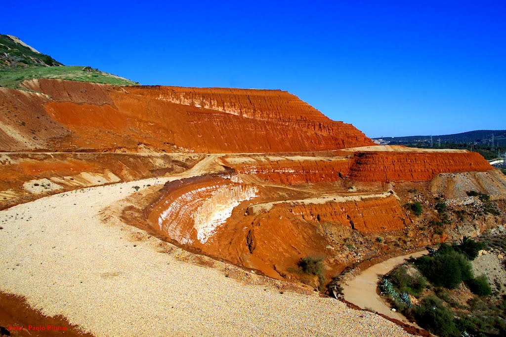 Iglesias, Red mud, Monteponi Mine, Photo credits Paolo Pintus