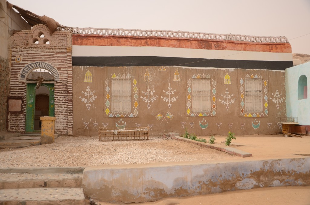 Motifs on the Nubian houses