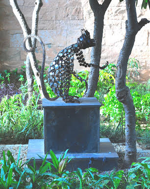 Art work made from metal scrap Picture Courtesy: Gopal Namjoshi