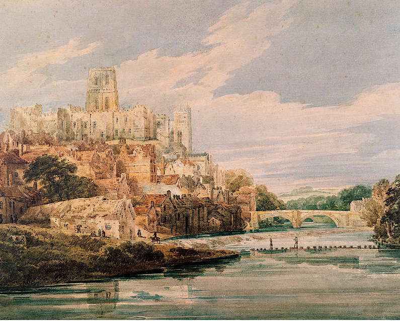 Durham Castle And Cathedral (Thomas Girtin, 1800)