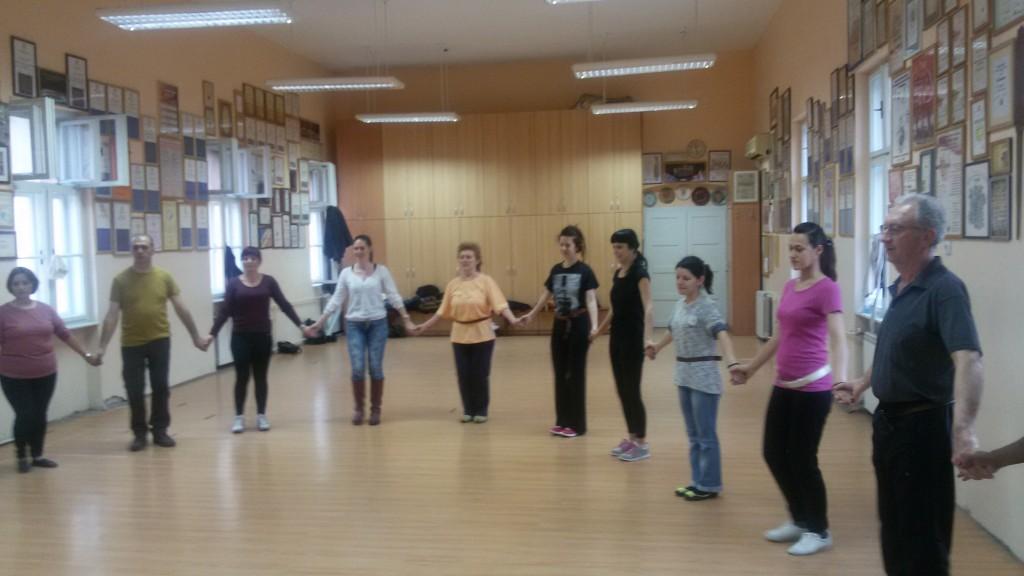 Me dancing Kolo 1
