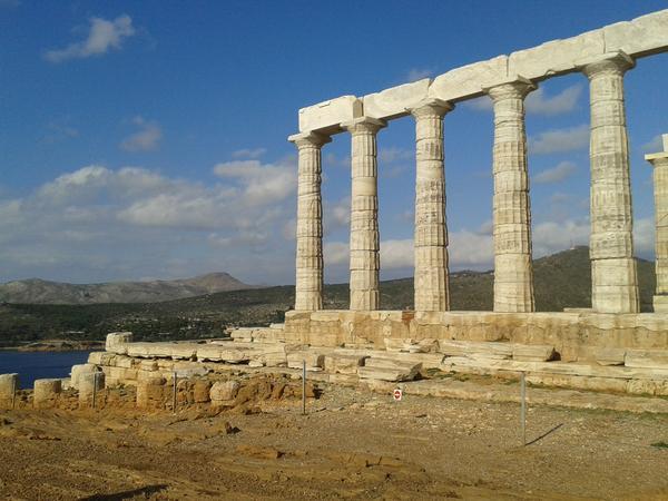 Greece Temple_of Poseidon at Cape Sounio Photo Courtesy Nikoleta Platia