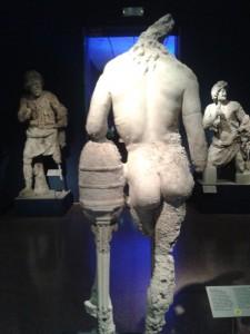 Grrece Antikythera shipwreck collection at National Archaeological Museum of Athens, GreecePhoto Courtesy Nikoleta Platia