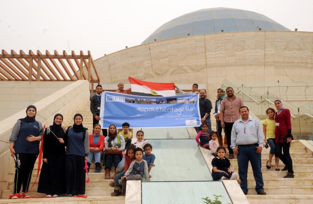 #makeheritagefun in Cairo