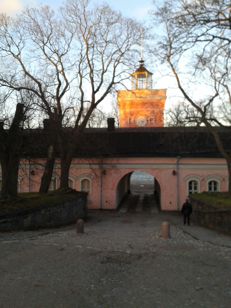 One of the main entrances of the fortress