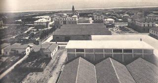 "Mussolinia city (Arborea), 1928, (photo taken from blog ""Le città di Mussolini"")"