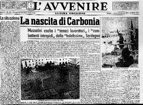 Daily newspaper L' Avvenire, (photo taken from Google images)