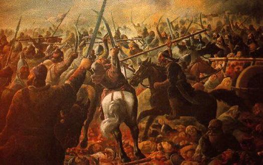 Maratha Battle scene